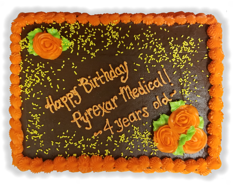 Pyrexar Celebrates four years as a medical device manufacturer