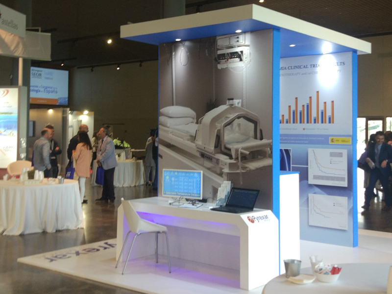 Magna Medic Systems booth at the SEOR Spain